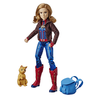 Marvel Captain Marvel Captain Marvel and Marvel's Goose Figure