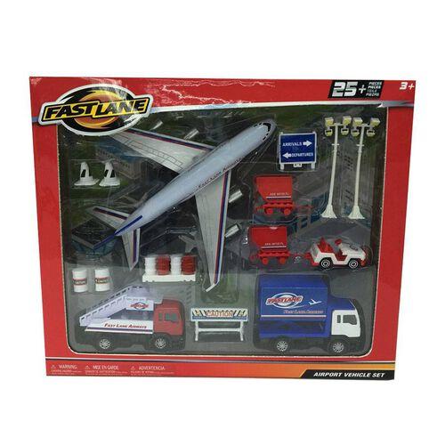 Fast Lane Diecast 1:43 Airport Vehicle Set