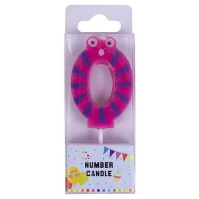 Figure Number 0 Candle