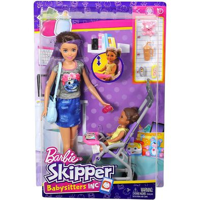 Barbie Skipper Babysitters Doll and Playset - Assorted