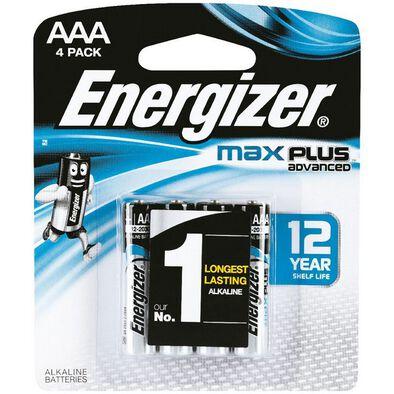 Energizer Max Plus Aaa 4 Pcs