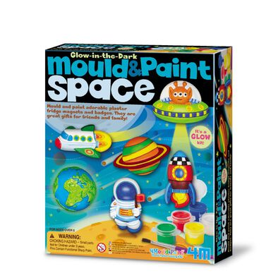 4M Space Mould & Paint Glow in the Dark