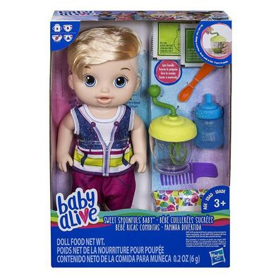 Baby Alive Sweet Spoonfuls Baby Boy Bl