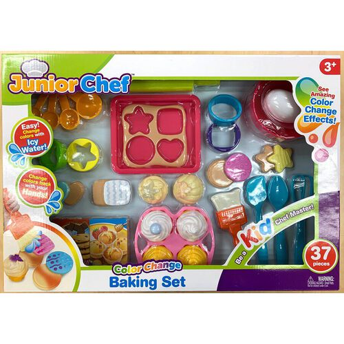 Junior Chef 33 Pieces Baking Set - Assorted