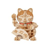Robotime DIY Plutus Cat