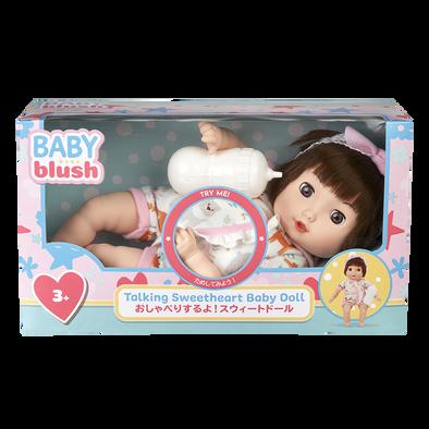 Baby Blush Talking Sweetheart Baby Doll Set