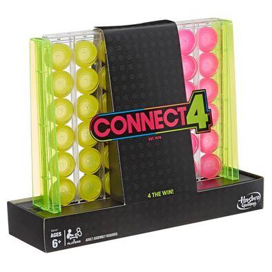 Connect 4 Neon Pop