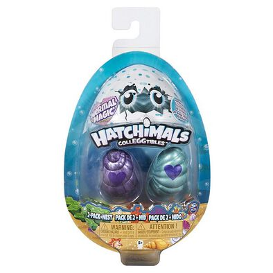 Hatchimals Colleggtibles S5 2 Pack + Nest Gbl - Assorted