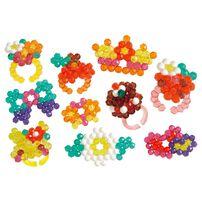 Aqua Beads Dazzling Ring Set