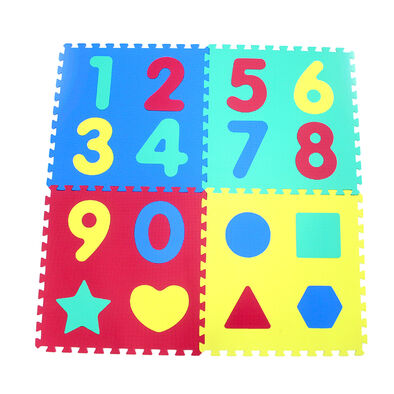 Numbers (0-9) & Shapes Puzzle