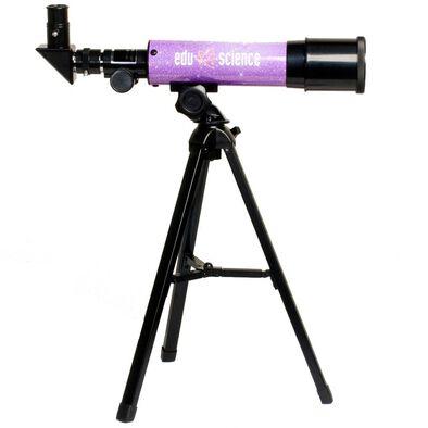 Edu Science Lavender Telescope Refractor