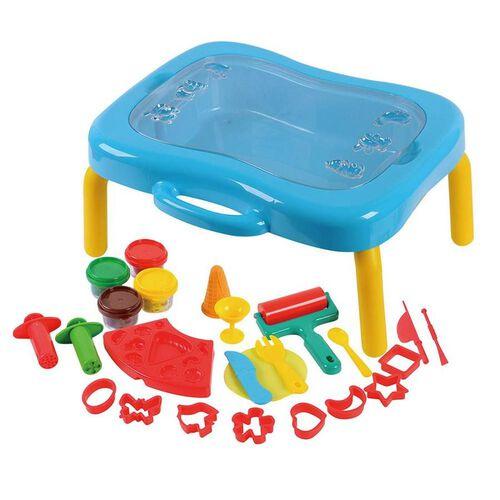 Universe of Imagination Dough Activity Table