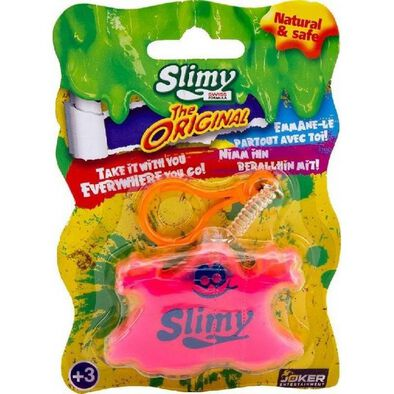 Slimy Swiss Formula Keychain - Assorted
