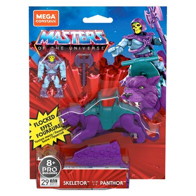 Masters of the Universe Mega Construx Skeletor and Panthor