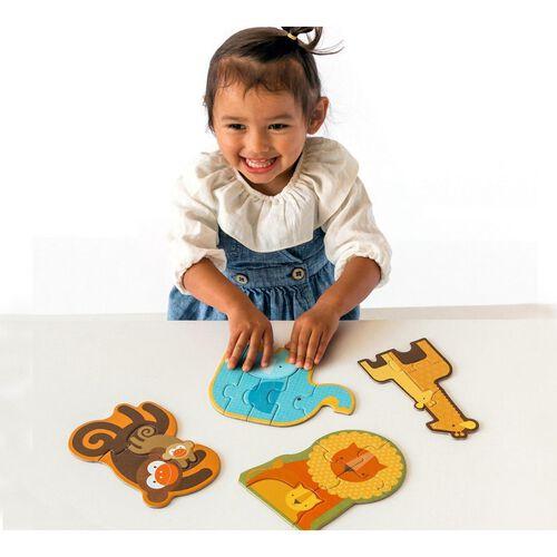 Petit Collage Beginner Puzzle Safari Babies