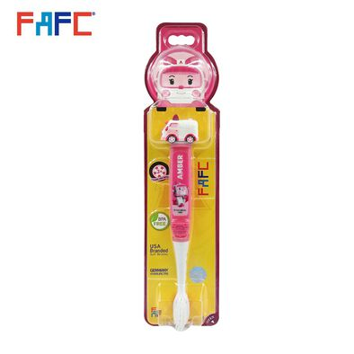 Amber Figurine Kids Toothbrush