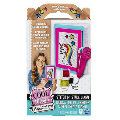 Cool Maker Handcrafted Stitch N Style Diary Activity Kit