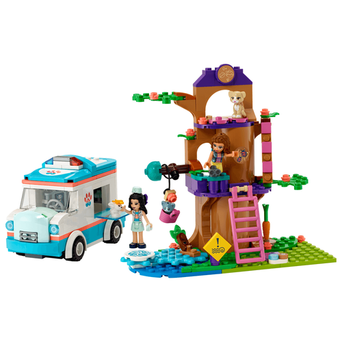 LEGO Friends Vet Clinic Ambulance 41445