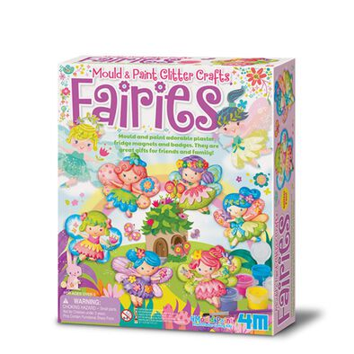 4M Fairies Mould & Paint Glitter Crafts