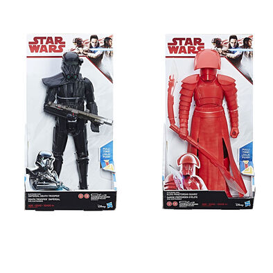 Star Wars E8 Hs Hero Series Elect Figure - Assorted