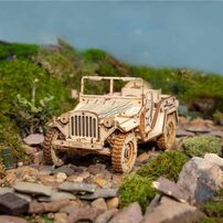 Robotime DIY Army Jeep