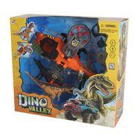 Dino Valley Steel Hawk Rescue Playset