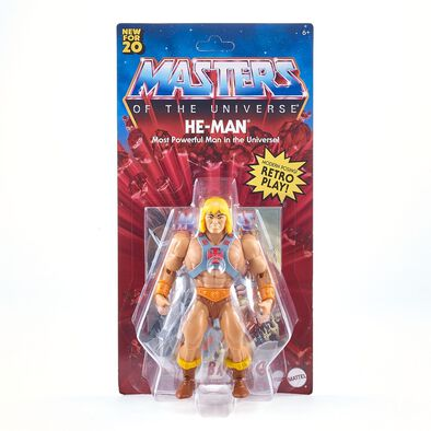 Masters of the Universe Hyper-Retro He Man Origins