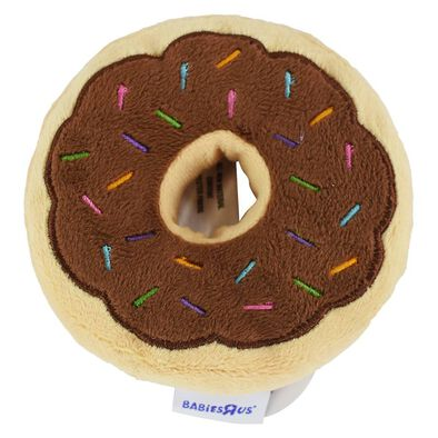 Babies R Us Doughnut Rattle - Assorted