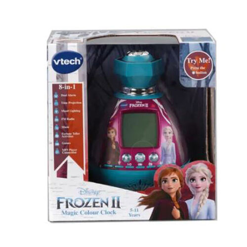 Vtech Disney Frozen Kidimagic Colour Show Clock