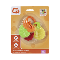 Top Tots Colourful Fruit Teether