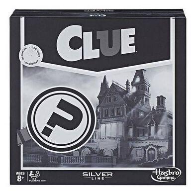 Hasbro Gaming Silver Line Clue