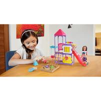 Barbie Skipper Babysitters Inc Climb 'n Explore Playground Dolls and Playset