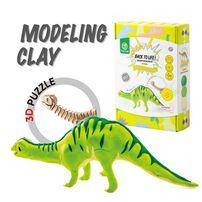 Robotime 3D Puzzle Clay Brontosaurus