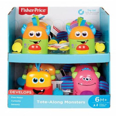Fisher-Price Infant Mini Monster - Assorted