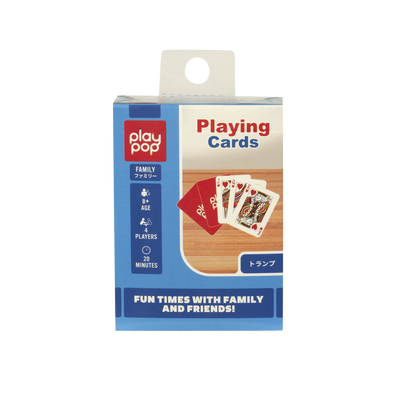 Play Pop Playing Cards Family Game