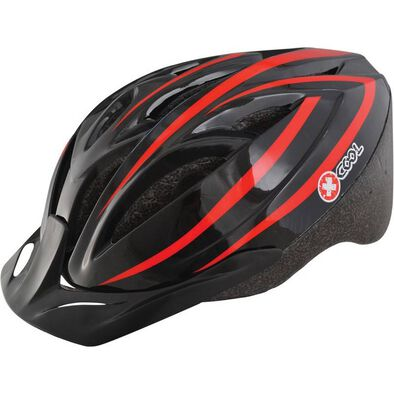 X-Cool Xcool Red/Black Helmet