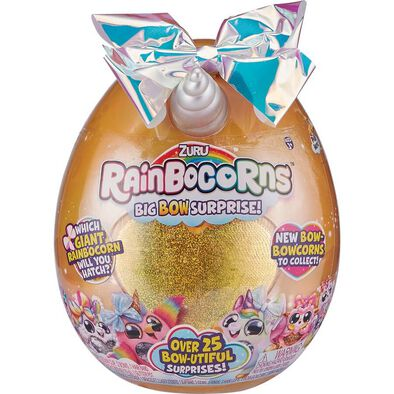 Rainbocorns Plush Big Bow Surprise