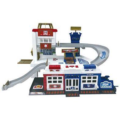 Fast Lane Rescue Center Playset