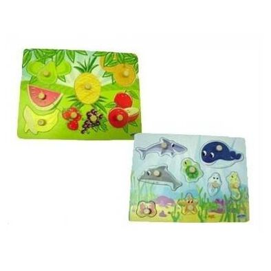 Universe Of Imagination Peg Puzzle 2Nd - Assorted