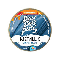 Nickelodeon Liquid Lava Putty Metallic - Assorted