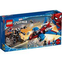 LEGO Marvel Spider-Man Spiderjet vs. Venom Mech 76150