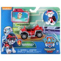 Paw Patrol Mission Mini Vehicles - Assorted