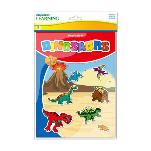 Universe Of Imagination Magnetic Book Dino