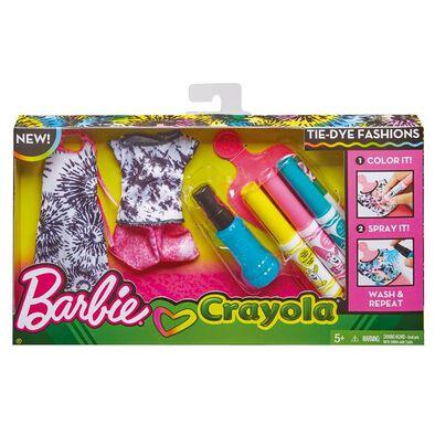 Barbie Diy Crayola Tie-Dye Fashion - Assorted