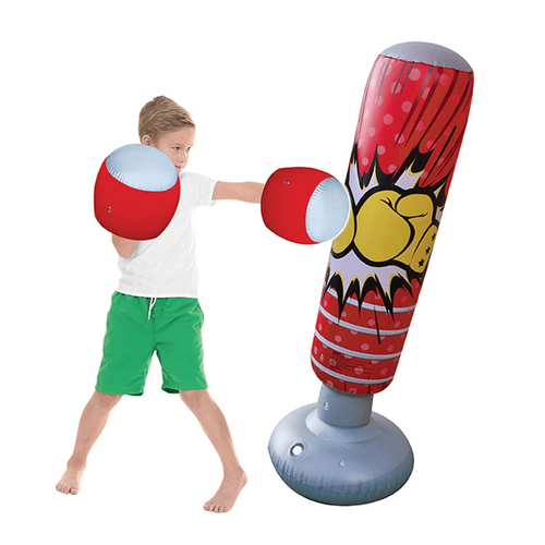 Kasaca Sports Inflatable Punching Bag and Gloves