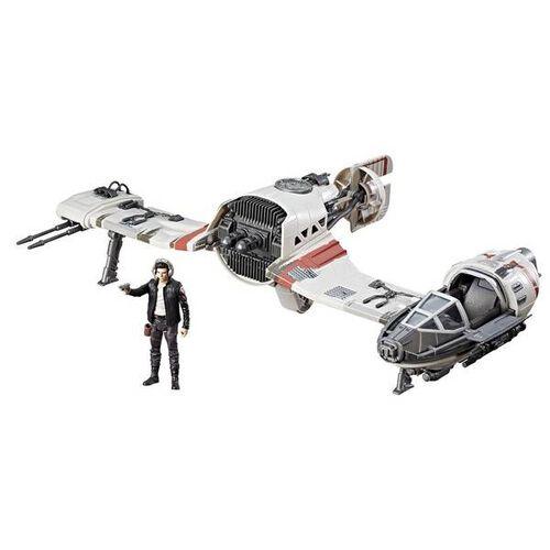 Star Wars E8 Resist Ski Speeder And Pilot