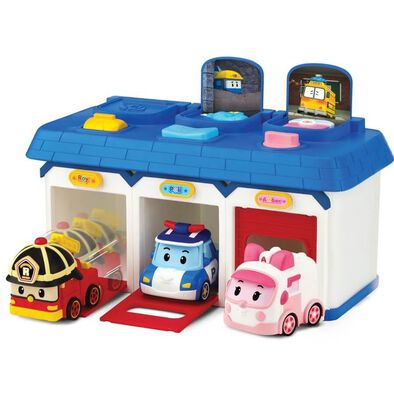 Robocar Poli Pop-Up Rescue Center