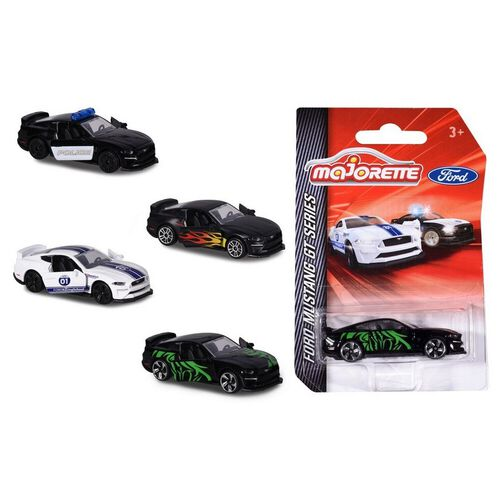 Majorette Ford Mustang Edition 4  - Assorted