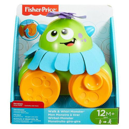 Fisher-Price Infant Monsters Pull Toy