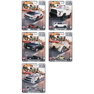 Hot Wheels GTJ68 Boulevard Dash H Set of 10